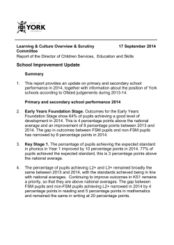School Improvement Update PDF 91 KB
