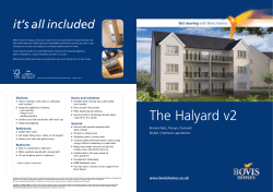 The Halyard - 2 bedroom apartments