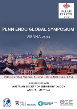 penn endo global symposium vienna 2014