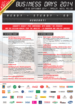 business days 2014