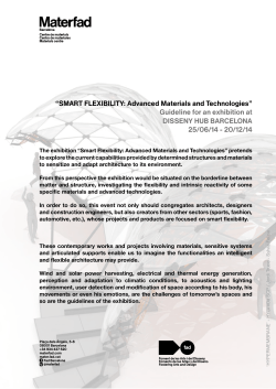 """SMART FLEXIBILITY: Advanced Materials and Technologies"