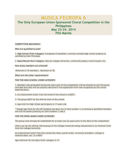competition mechanics