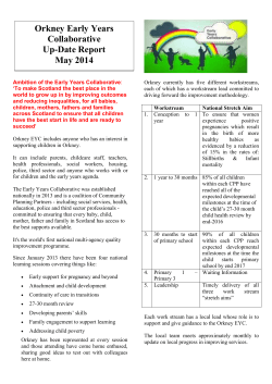 Early Years Collaborative Newsletter