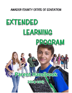 ELP Handbook (pdf) - Amador County Unified School District and