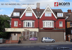 161-163 Masons hill broMley, kent br2 9hw
