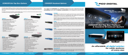 An affordable all-digital solution for cable systems of