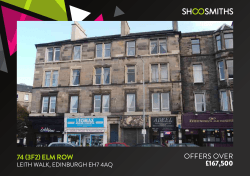 74 (3F2) ELM ROW OFFERS OVER £167,500