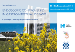 endoscopic controversies in gastrointestinal diseases