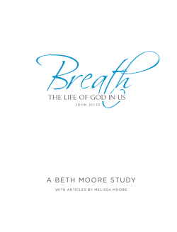 Answers to Breath Study Guide (View In PDF)
