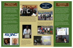 Fall 2014 Community Quarterly