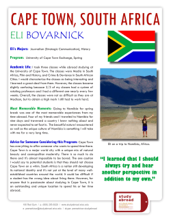 South Africa, Cape Town - Eli Bovarnick