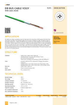 EIb bus CablE Y(st)Y