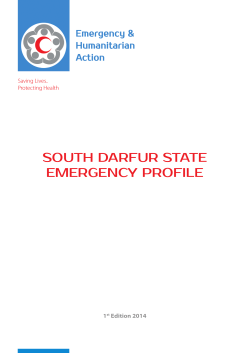 South Darfur State emergency Profile