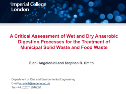 A critical assessment of wet and dry anaerobic