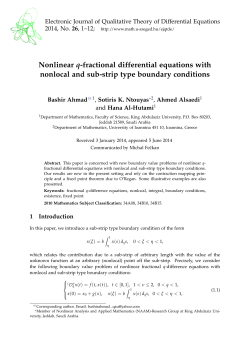 Nonlinear q-fractional differential equations with nonlocal and sub