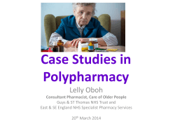 Case Studies in Polypharmacy