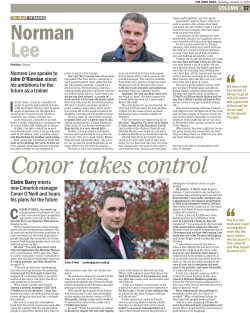 The Irish Field, 3rd October 2014 edition