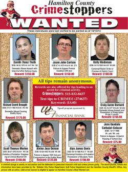 Hamilton County Crime Stoppers