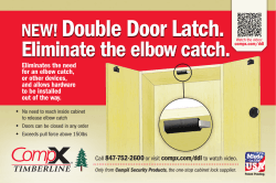 NEW!Double Door Latch.
