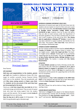 Download File - Maiden Gully Primary School