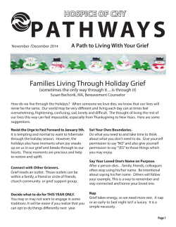 Holiday Memorial Workshop
