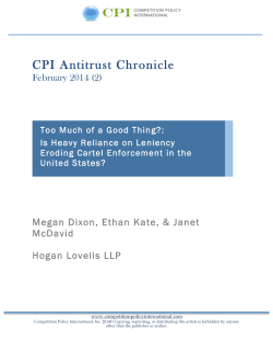 CPI Antitrust Chronicle