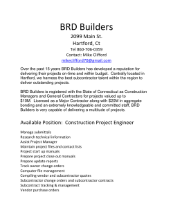 BRD Builders - Central Connecticut State University