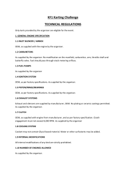 KF1 Technical Specifications