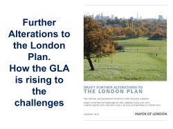John Lett, GLA - Royal Town Planning Institute