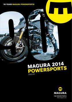 Magura Powersports Catalogue