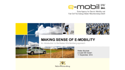 Making sense of e-mobility (Stefan Buchele)