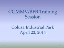 CGMMV/BFB Training Session - California Seed Association