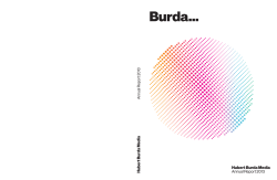 Annual Report 2013 - Hubert Burda Media