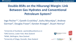 Link Between Gas Hydrates and Conventional Petroleum System?
