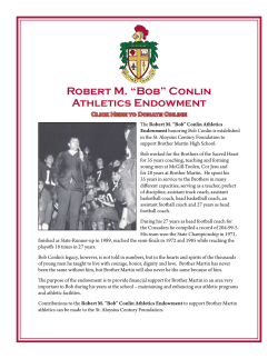 """Bob"" Conlin Athletics Endowment"