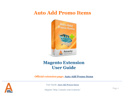 Auto Add Promo Items - Add products to cart automatically