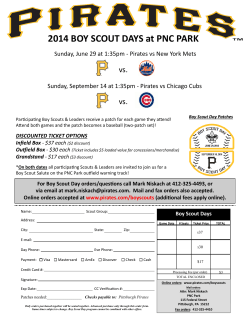 2014 BOY SCOUT DAYS at PNC PARK