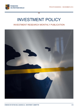 Investment Policy - December 2014