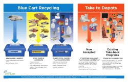 """What can go in your recycling bin"" printable guide"