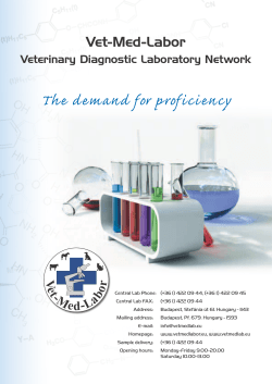 The demand for proficiency - Vet-Med