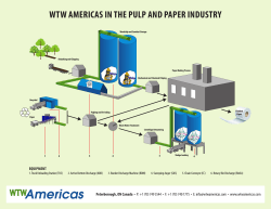 WTW AMERICAS IN THE PULP AND PAPER