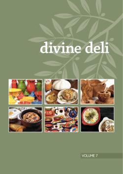 Download Main Brochure - Divine Deli Supplies Ltd