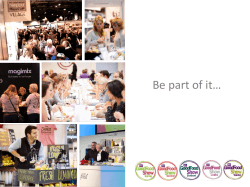 Be part of it… - BBC Good Food Show London 2014