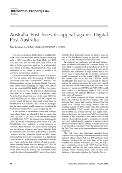 Australia Post loses its appeal against Digital