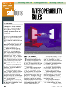 Interoperability rules – having vendors provide