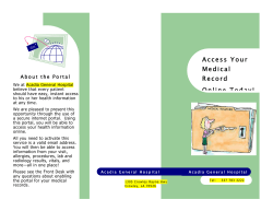 Access Your Medical Record Online Today!
