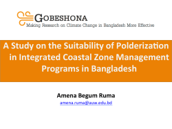 A Study on the Suitability of Polderization in Integrated