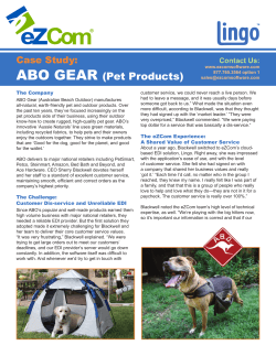 ABO GEAR (Pet Products)