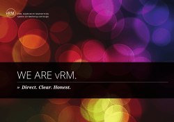 WE ARE vRM. - Ramdohr Marketing