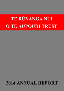 Download here - Te Aupouri Iwi